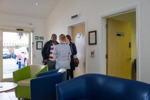Inside the Warwickshire satellite clinic